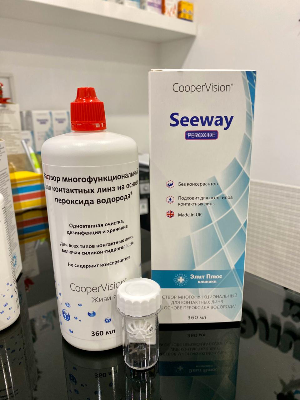 Seeway Peroxide раствор для линз