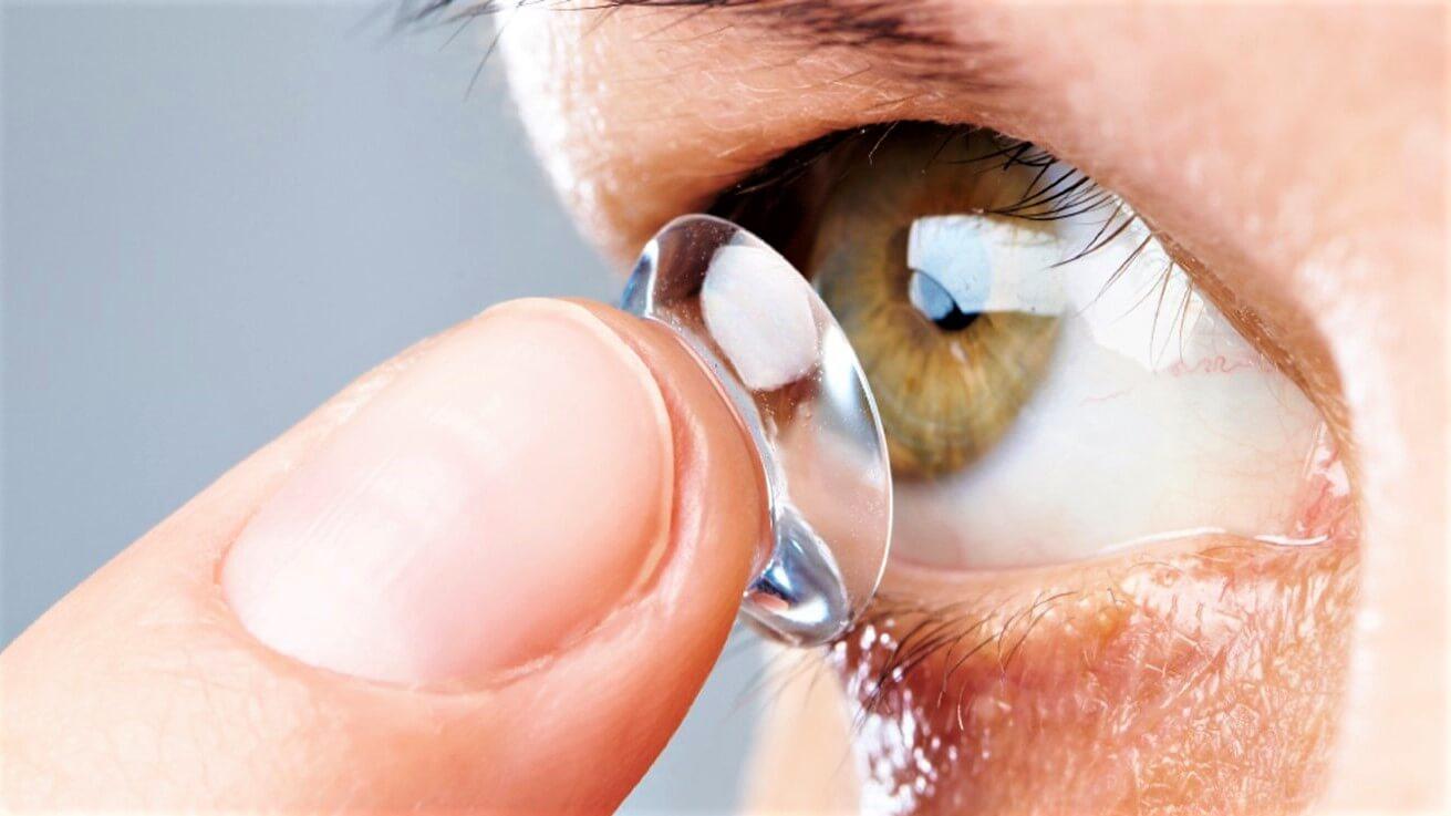 Жесткие контактные линзы картинки