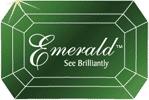 логотип линзы эмиральд